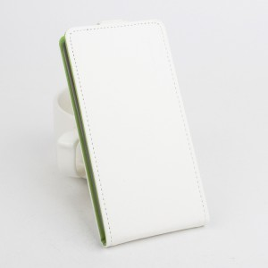 Текстурный чехол вертикальная книжка на силиконовой основе на магнитной защелке для Lenovo Vibe C