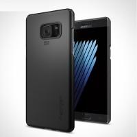 Пластиковый непрозрачный матовый чехол с улучшенной защитой элементов корпуса для Samsung Galaxy Note 7  Черный