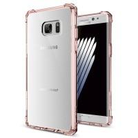 Силиконовый матовый полупрозрачный дизайнерский фигурный противоударный чехол для Samsung Galaxy Note 7  Черный