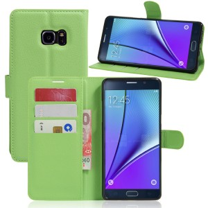 Чехол портмоне подставка на силиконовой основе на магнитной защелке для Samsung Galaxy Note 7