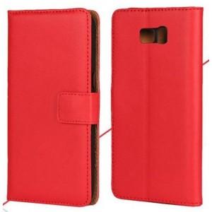 Чехол портмоне подставка на пластиковой основе на магнитной защелке для Samsung Galaxy Note 7
