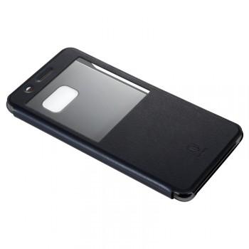 Чехол горизонтальная книжка на пластиковой основе с окном вызова для Samsung Galaxy Note 7