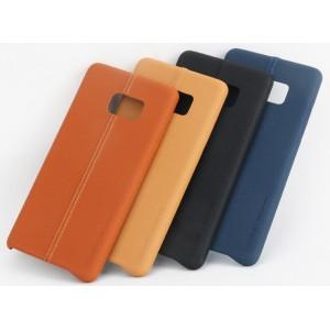 Чехол накладка текстурная отделка Кожа для Samsung Galaxy Note 7