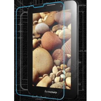 Ультратонкое износоустойчивое сколостойкое олеофобное защитное стекло-пленка для Lenovo IdeaTab A3000