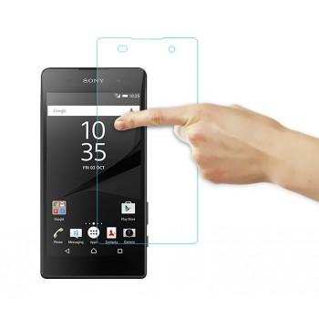 Ультратонкое износоустойчивое сколостойкое олеофобное защитное стекло-пленка для Sony Xperia E5