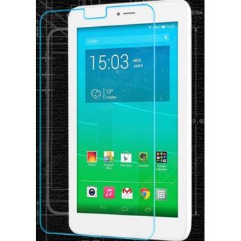 Ультратонкое износоустойчивое сколостойкое олеофобное защитное стекло-пленка для Alcatel One Touch Pixi 3 (7)