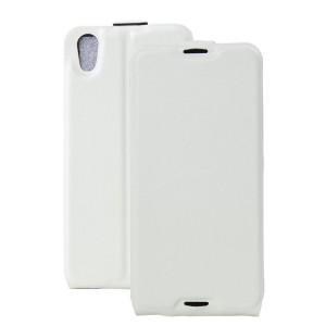 Чехол вертикальная книжка на силиконовой основе с отсеком для карт на магнитной защелке для Alcatel Idol 4/BlackBerry DTEK50 Белый