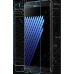 Ультратонкое износоустойчивое сколостойкое олеофобное защитное стекло-пленка на плоскую часть экрана для Samsung Galaxy Note 7