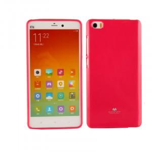 Силиконовый глянцевый непрозрачный чехол для Xiaomi MI5 Пурпурный