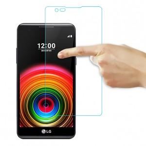 Ультратонкое износоустойчивое сколостойкое олеофобное защитное стекло-пленка для LG X Power
