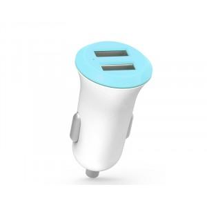 Автомобильное зарядное устройство на 2 USB разъема 5В 2.4А