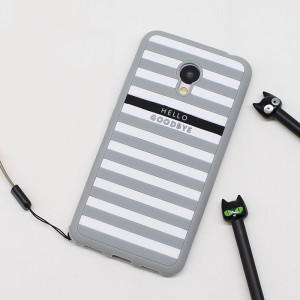 Силиконовый матовый непрозрачный дизайнерский фигурный чехол для Meizu M3s Mini