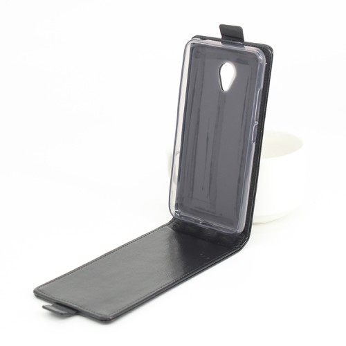 Глянцевый чехол вертикальная книжка на силиконовой основе на магнитной защелке для Meizu M3s Mini