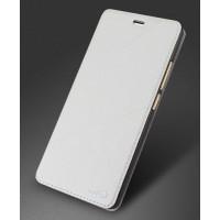 Чехол горизонтальная книжка подставка текстура Линии на силиконовой основе для Meizu M3s Mini Белый