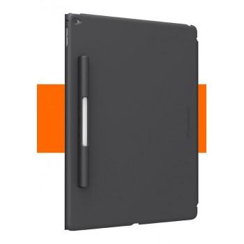 Пластиковый матовый полупрозрачный чехол с крепежом для Apple Pencil совместимый со Smart Keyboard для Ipad Pro