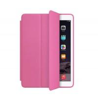 Сегментарный чехол книжка подставка на непрозрачной силиконовой основе для Ipad Pro  Розовый