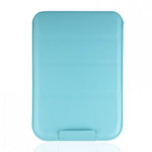 Кожаный мешок сегментарный (иск. кожа) подставка для ASUS Transformer Book T100HA  Голубой