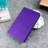Чехол книжка подставка текстура Дерево на непрозрачной поликарбонатной основе для Lenovo Tab 3 7  Фиолетовый