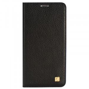Кожаный чехол горизонтальная книжка на пластиковой основе с отсеком для карт для Meizu MX6