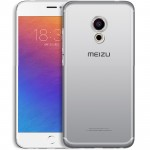 Силиконовый глянцевый транспарентный чехол для Meizu MX6