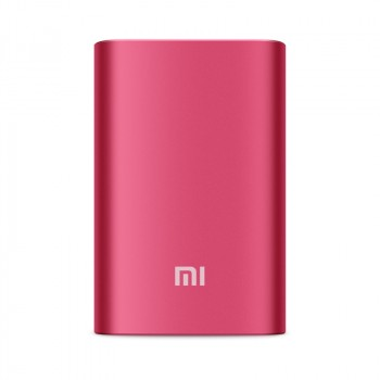 Оригинальное портативное зарядное устройство Xiaomi в матовом металлическом корпусе 10000 мАч Пурпурный