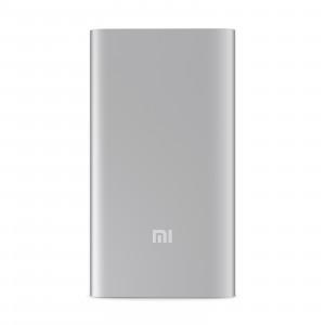 Оригинальное ультратонкое 9.9 мм портативное зарядное устройство Xiaomi в матовом металлическом корпусе 5000 мАч