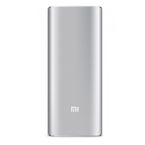 Оригинальное портативное зарядное устройство Xiaomi в матовом металлическом корпусе 16000mAh