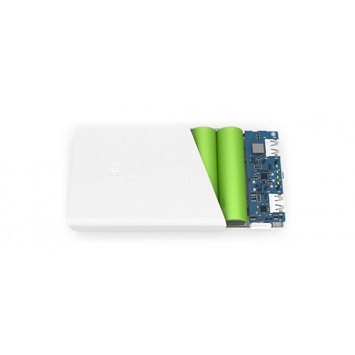 Оригинальное портативное зарядное устройство Xiaomi в нескользящем поликарбонатном корпусе 20000mAh