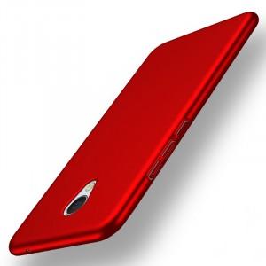 Пластиковый непрозрачный матовый чехол с улучшенной защитой элементов корпуса для Meizu MX6