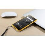 Металлический округлый бампер сборного типа на винтах для Sony Xperia Z5 Premium