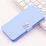 Чехол горизонтальная книжка подставка на пластиковой основе с отсеком для карт на дизайнерской магнитной защелке для ZTE Blade A510