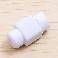 Противоизносный кабельный зажим дизайн Леденец Белый