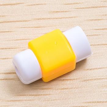 Противоизносный кабельный зажим дизайн Леденец Желтый
