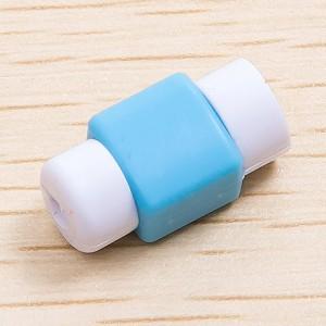 Противоизносный кабельный зажим дизайн Леденец Голубой