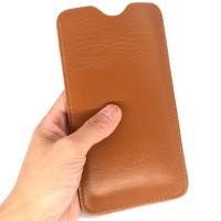 Кожаный мешок (иск. кожа) для Sony Xperia XA Ultra  Коричневый