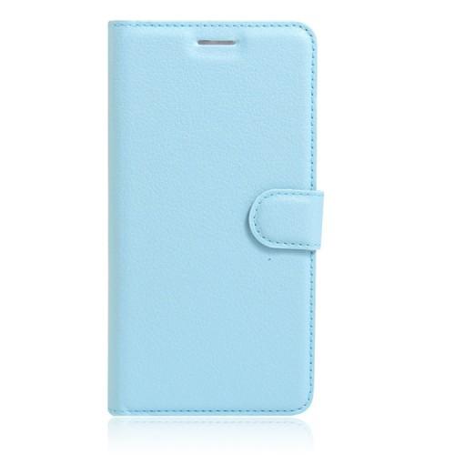 Чехол портмоне подставка на силиконовой основе на магнитной защелке для Huawei Honor 8 Черный