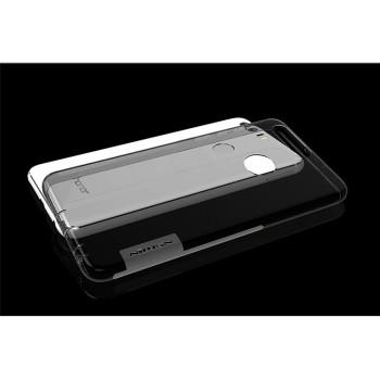 Силиконовый матовый полупрозрачный чехол с улучшенной защитой элементов корпуса (заглушки) для Huawei Honor 8