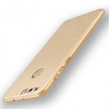Пластиковый непрозрачный матовый чехол с повышенной шероховатостью для Huawei Honor 8