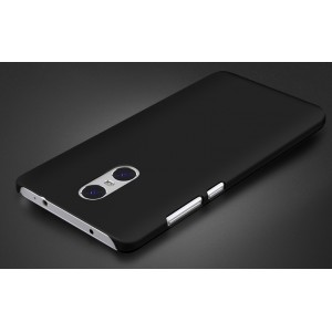 Пластиковый непрозрачный матовый чехол для Xiaomi RedMi Pro Черный