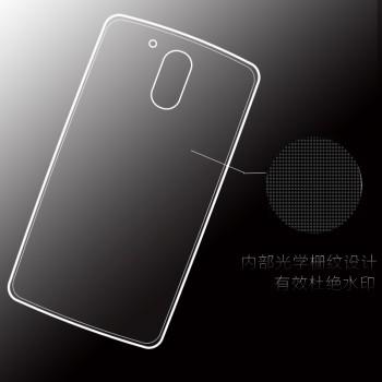 Силиконовый матовый транспарентный чехол для Lenovo Moto G4