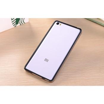 Двухкомпонентный силиконовый матовый непрозрачный чехол с поликарбонатным бампером для Xiaomi Mi Note
