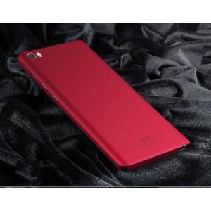 Пластиковый непрозрачный матовый чехол с улучшенной защитой элементов корпуса для Xiaomi Mi Note