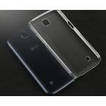 Пластиковый транспарентный чехол для LG K3