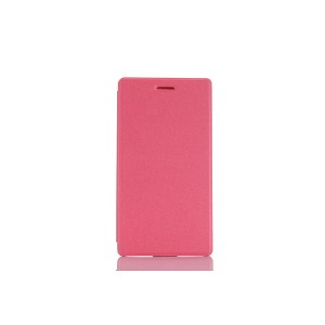Чехол книжка подставка на непрозрачной поликарбонатной основе для Lenovo Tab 3 7  Розовый