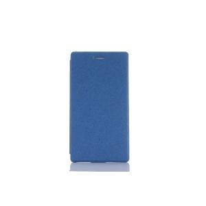Чехол книжка подставка на непрозрачной поликарбонатной основе для Lenovo Tab 3 7  Синий