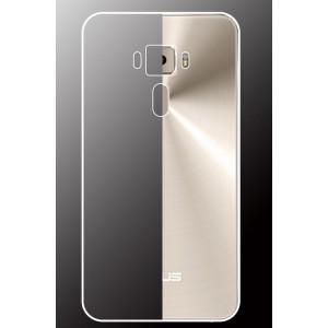 Силиконовый глянцевый транспарентный чехол для Asus ZenFone 3 5.5