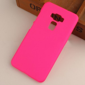 Пластиковый непрозрачный матовый чехол для Asus ZenFone 3 5.5 Пурпурный
