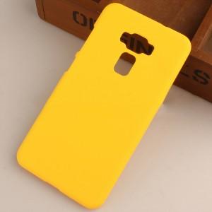 Пластиковый непрозрачный матовый чехол для Asus ZenFone 3 5.5 Желтый