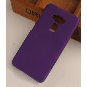 Пластиковый непрозрачный матовый чехол для Asus ZenFone 3 5.5 Фиолетовый