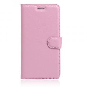 Чехол портмоне подставка на силиконовой основе на магнитной защелке для Asus ZenFone 3 5.5 Розовый